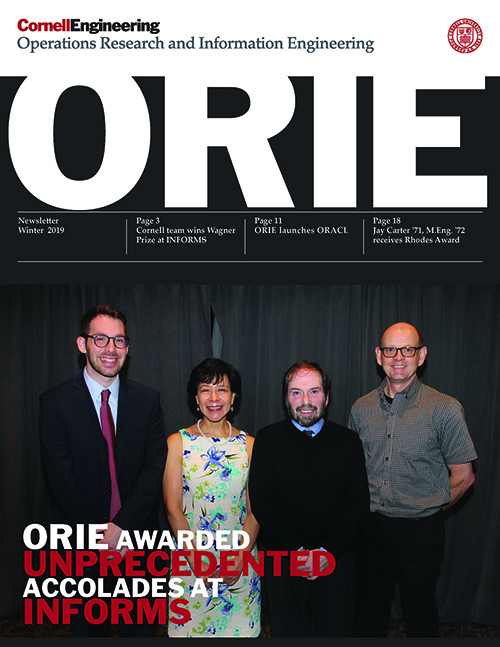 ORIE Magazine - Winter 2019