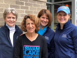 Hospicare group that organizes and promotes the annual Women Swimmin' event